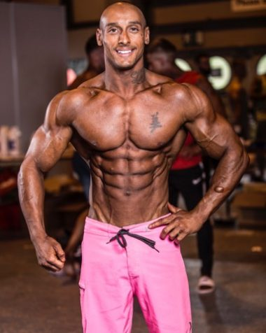 Danny shines at the BodyPower Expo 2017